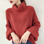 thumbnail 1 - Women-039-s-Knitwear-Turtleneck-Sweater-Loose-Long-Sleeve-Pullover-Jumper-Baggy-Tops