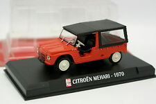 Ixo Auto Plus 1/43 - Citroen Mehari 1970 Rouge
