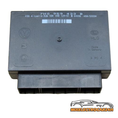 7h0959433b vw t5 Confort Dispositif de commande ZV centrale verrieglung 36 MG