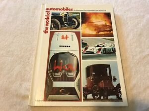 vintage-THE-WORLD-of-AUTOMOBILES-Illustrated-Encyclopedia-of-the-Motor-Car-1974