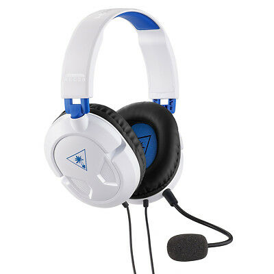 Turtle Beach Recon 50P White Stereo Gaming Headset Wired PS4/Pro/XBOX One S