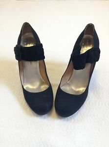 Marc-By-Marc-Jacobs-Black-Mary-Janes-Size-8-5