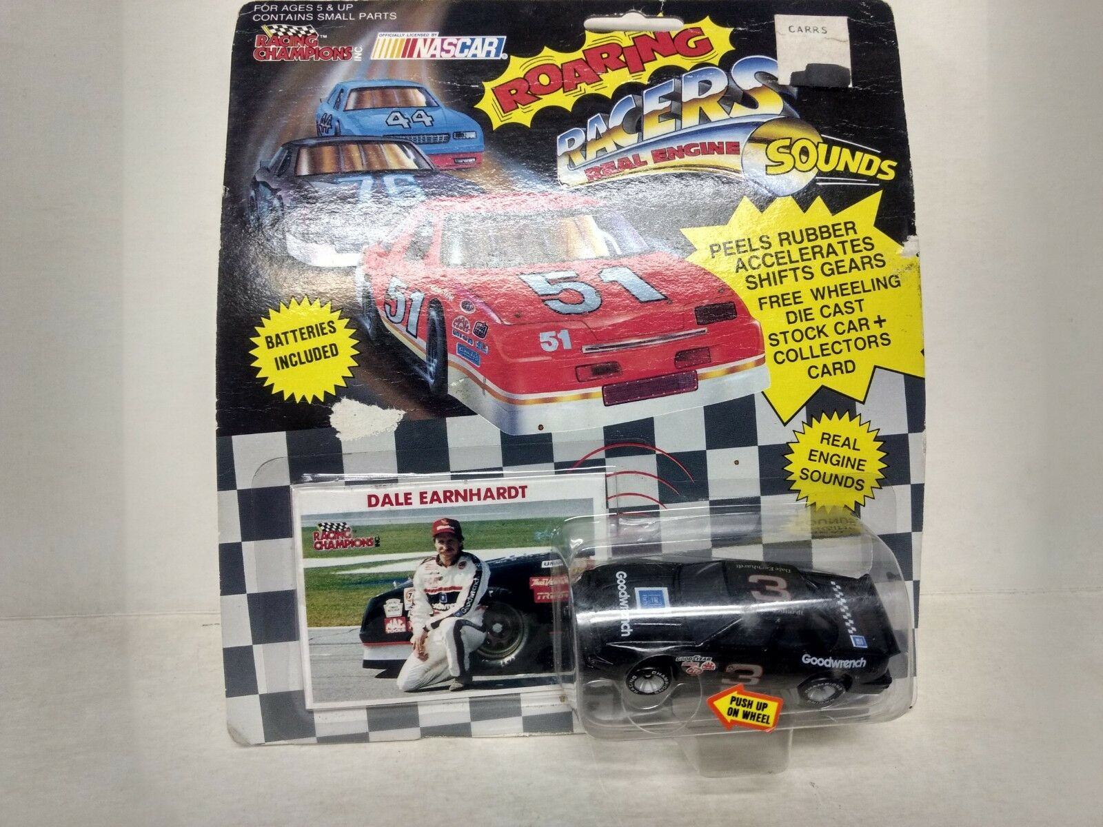 Racing Champions Rugissant Coureurs Dale Earnhardt Chevy 1 64