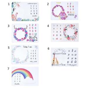 Baby-Soft-Flannel-Photography-Monthly-Photo-Newborn-Children-Milestone-Blankets