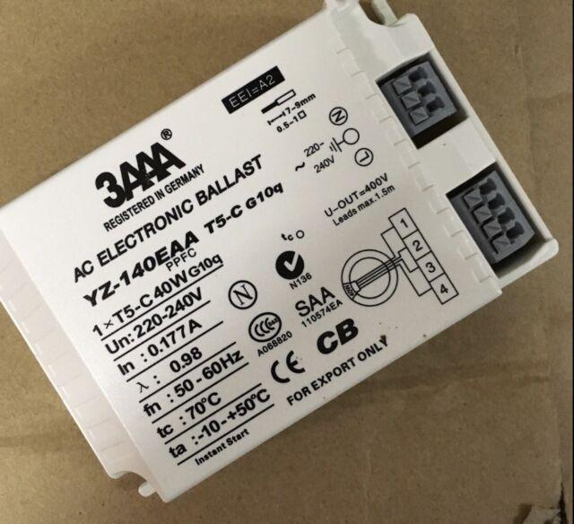3AAA YZ-140EAA G10q 40w 4pin 220-240V T5 Circline fluorescent lamp ballast