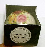 Beautiful Roses Potpourri Pomander Made In England By English Rivera Perfumes