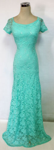 $120 NWT WINDSOR Mint Evening Prom Party Formal Gown 13