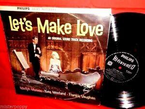 MARILYN-MONROE-Let-039-s-make-love-OST-LP-1960-NEW-ZEALAND-MONO-Unique-Cover-Rare