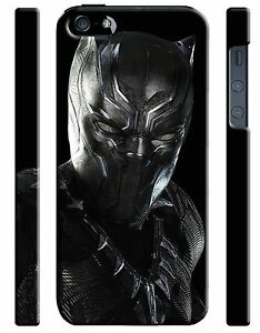 uk availability ae8c2 09ac0 Details about Civil War Black Panther Iphone 4s 5s 5c 6 6S 7 8 X XS Max XR  Plus Case 33