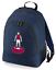 Football-TEAM-KIT-COLOURS-Villa-Supporter-unisex-backpack-rucksack-bag miniatuur 3