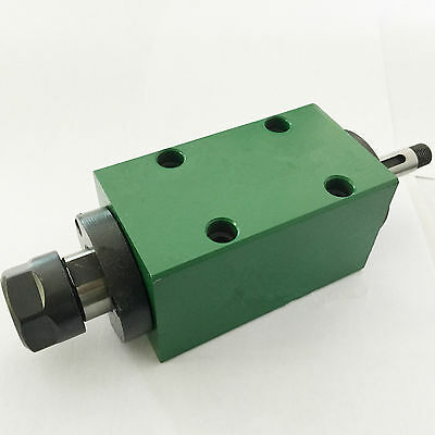 ER16 Spindle Unit Power Head 3000rpm/6000rpm 5Bearings for CNC Drilling Milling
