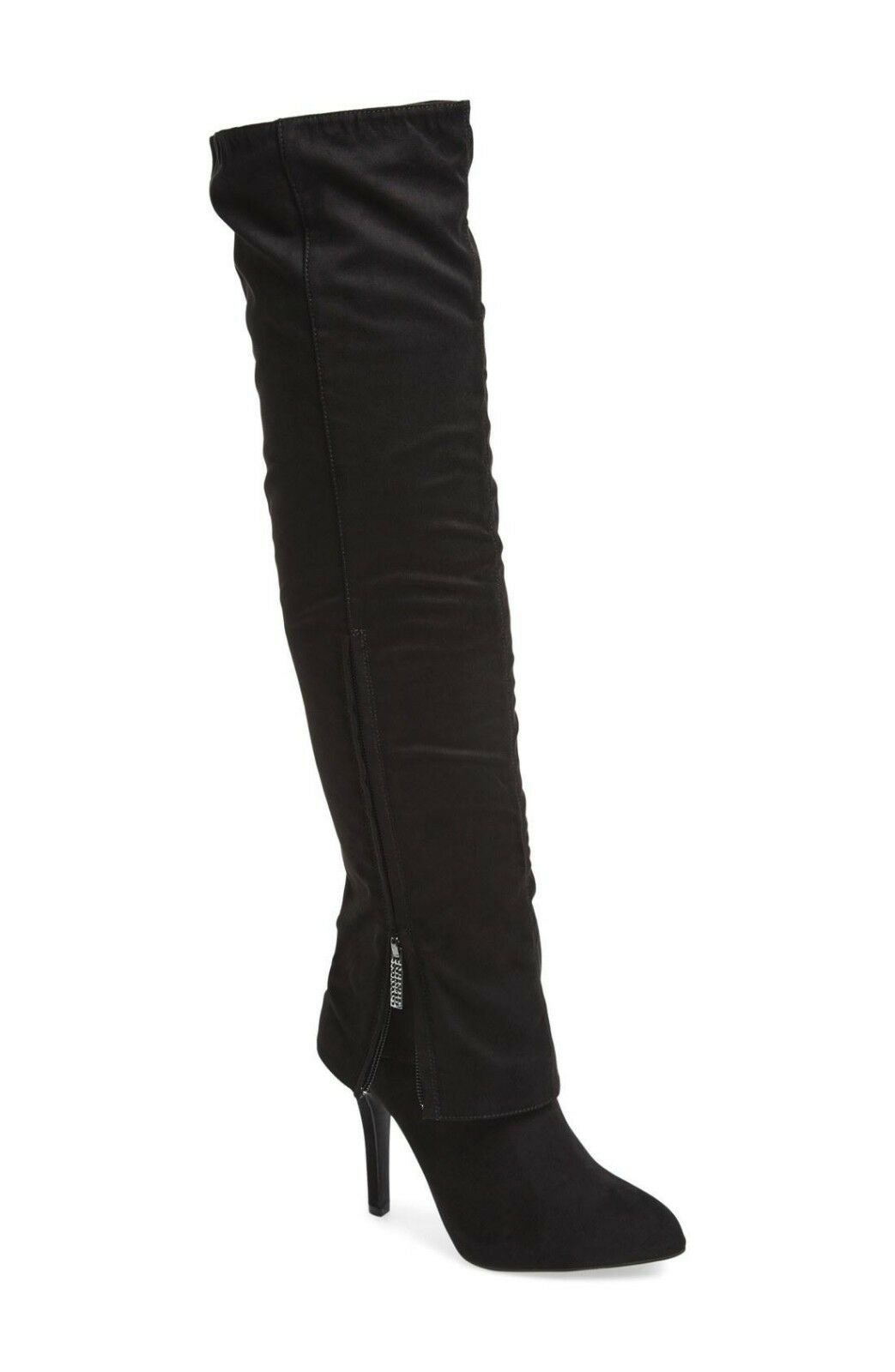 negozio online outlet NEW IN BOX BOX BOX NINA KANDI Over the Knee avvio Colore  True nero Glam Dimensione 7 1 2 SEXY   caldo