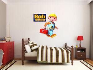Bob-The-Builder-X-Large-Gigante-Adesivo-Parete-in-Vinile-Decalcomanie-Bambini-50