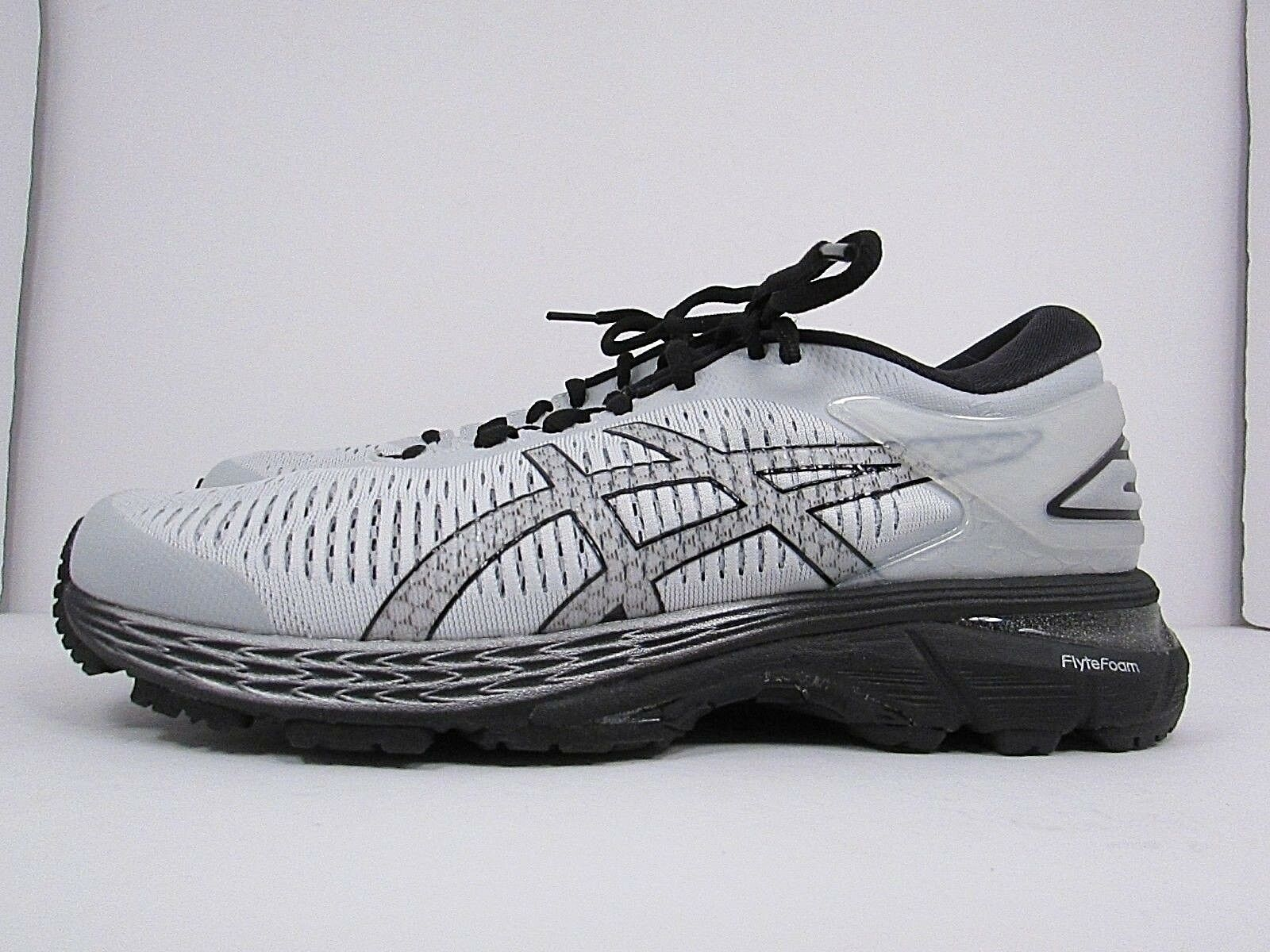 MEN'S ASICS GEL KAYANO 25 SIZE 7  WORN AROUND 2 MILES RUNNING SHOES NO INSOLES