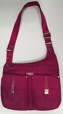 Tumi PHUKET CROSS BODY Purse Bag Fuchsia Purple Pink Berry 481986BYO NEW $225