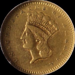 1859-S-Type-3-Liberty-Gold-1-NGC-XF45-Great-Eye-Appeal-Nice-Strike