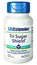 TWO BOTTLES $21.25 Life Extension Tri Sugar Shield blood sugar glucose levels