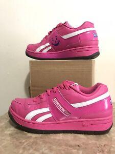 🌟 RARE Legacy Promo REEBOK KOOL AID NEON Pink Sneaker Shoe Men 5.5 ... 0142ea5e6