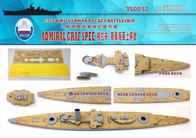 MASTER SM350044 1:350 Admiral Graf Spee armament