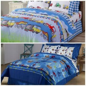 Chezmoi-Collection-Kids-Soft-Microfiber-Printed-Reversible-Duvet-Cover-Set
