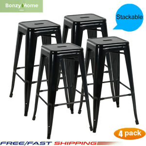 Dining-Chair-Stackable-Side-Chairs-Bar-Chairs-Bar-Stools-Set-of-4-Dining-Room