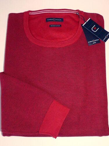 Casa 4xl Pullover Dimensione Moda Nuovo Uomo 40 Rosso 3xl Maglione TSqw1F