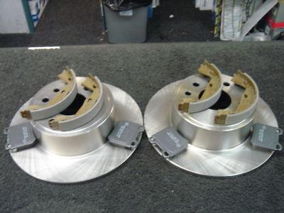 2 x Brake Discs Rear Vauxhall Vectra B 1995-2003 4 Stud wheels