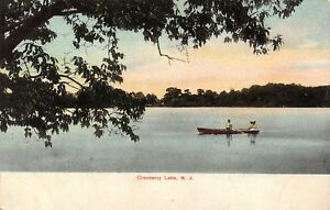 Vintage-Postcard-Cranberry-Lake-New-Jersey-USA-United-States-A77