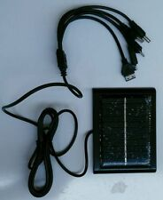 SOLAR MOBILE CHARGER WITH 5 PINS