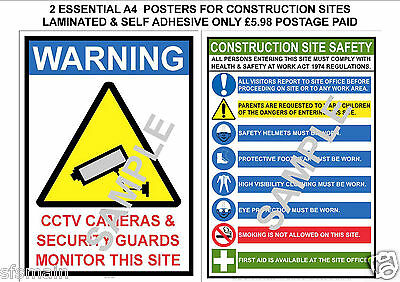 Clear health and safety posters and workplace signs office sign SAFE MANUAL HANDLING POSTER 400g LAMINATED A4 SIGN