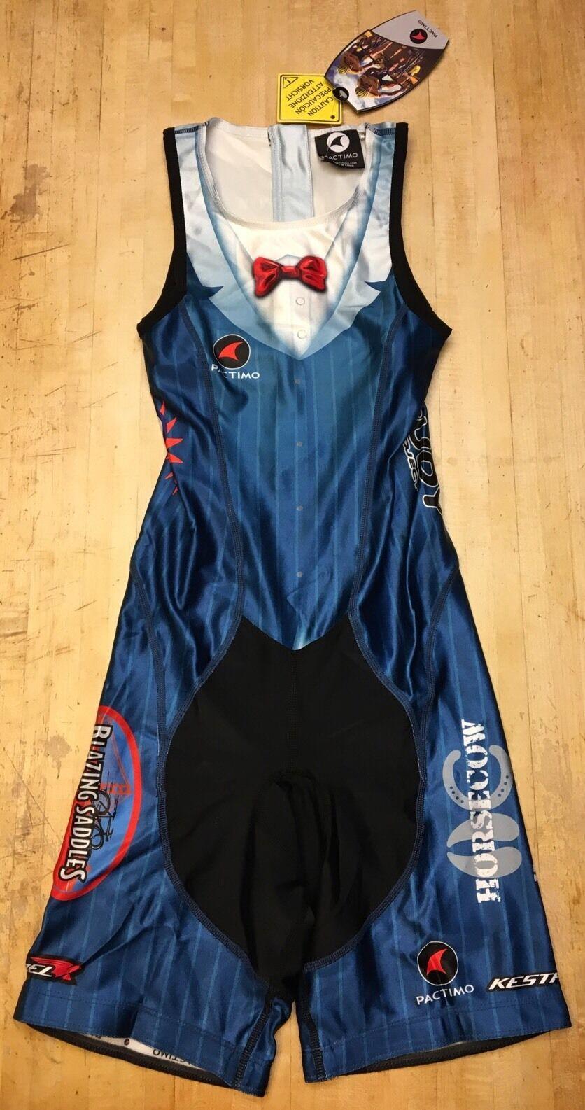 Unisex Pactimo Sleeveless FullSuit SkinSuit One Piece Cycling Garment XS