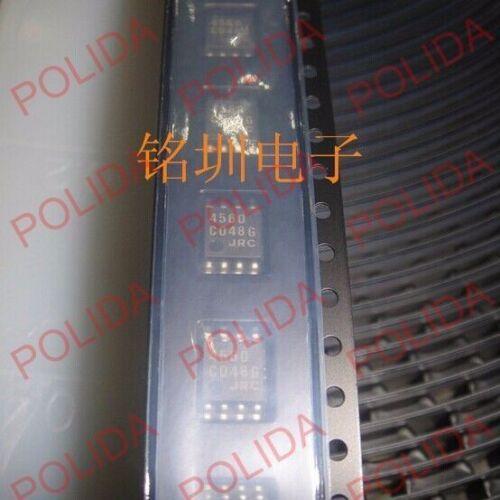 NJM4560M NJM4560 JRC4560 4560 10PCS OP AMP IC JRC SOP-8 DMP-8
