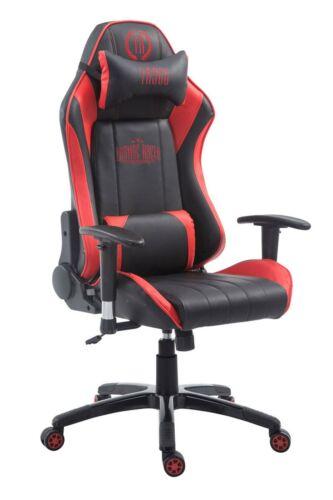 Racing Bürostuhl Shift X2 Kunstleder ohne Fußablage schwarz//rot