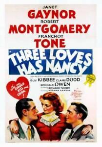 OLD MOVIE PHOTO Three Loves Has Nancy Poster Robert Montgomery Janet Gaynor