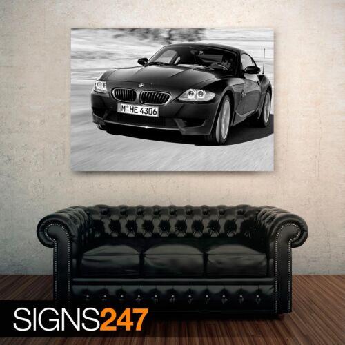Car Poster 0681 Picture Poster Print Art A0 A1 A2 A3 A4 2006 BMW Z4 M COUPE