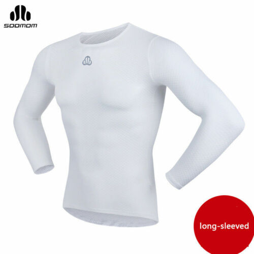 SOBIKE Men Mesh Perspiration Quick Dry Underwear Cycling Jersey Sportswear White