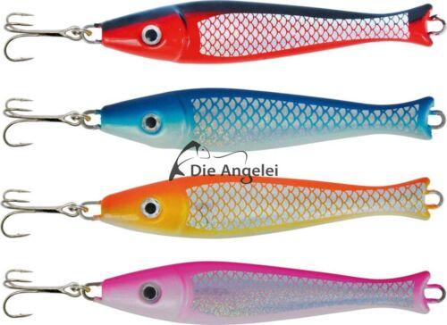 ZEBCO Ruby Head PILKER bleifrei//lead free vier Farben 75 bis 150 g