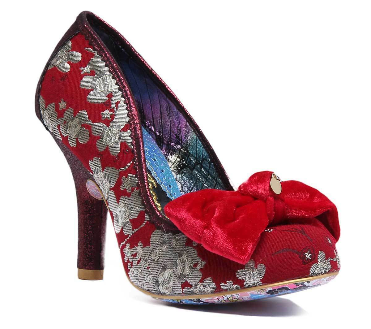 Irregular Choice French Fries Damenschuhe  Synthetic ROT Mid Heel  Damenschuhe UK Größe 3 - 8 80a83b