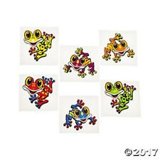 Fun Express Frog Temporary Tattoos Party Favor 72 Pieces