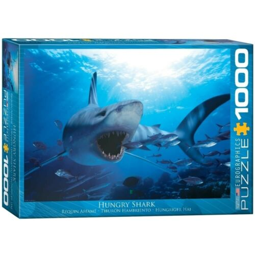 Eurographics Puzzle 1000 Pc EG60000299 Hungry Shark