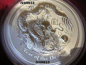 (10) Dragon Lunar Dragon En Argent Silver 1/2 Oz-afficher Le Titre D'origine Jouir D'Une Haute RéPutation Sur Le Marché International