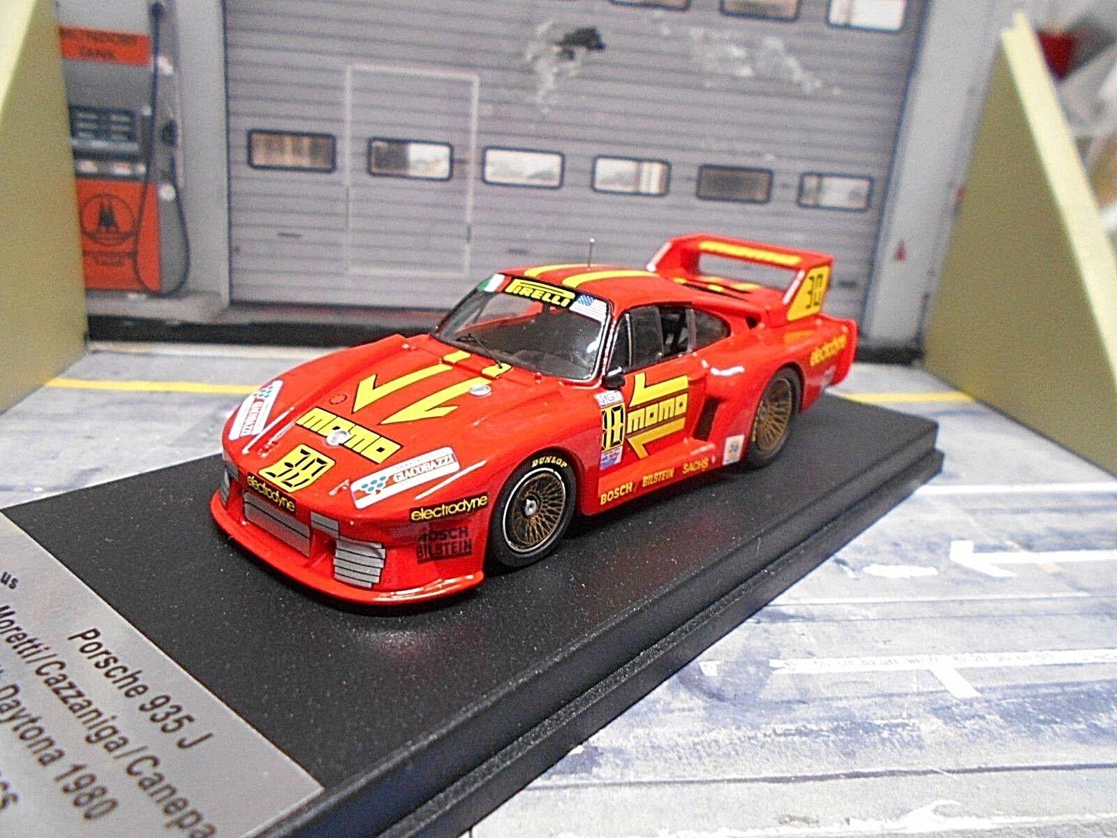 PORSCHE 935 Turbo  80 24h Daytona Momo 24h Daytona 80 Moretti Canep Trofeu 1 43  | Zu einem niedrigeren Preis