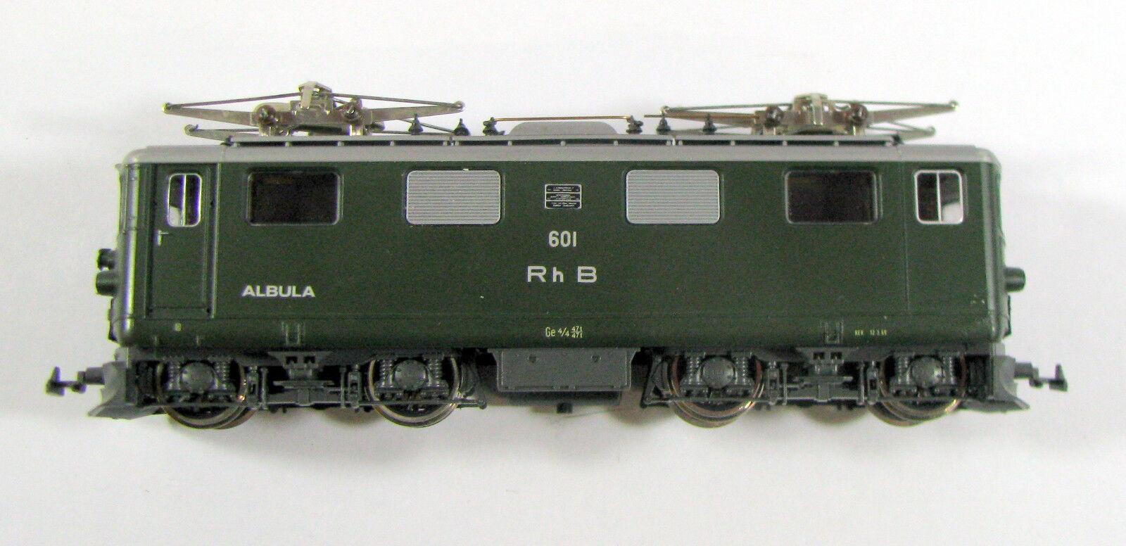 BEMO 1250 1250 1250 E-Lok GE 4 4 Albula RHB carreggiata stretta h0m senza imballaggio originale a80270