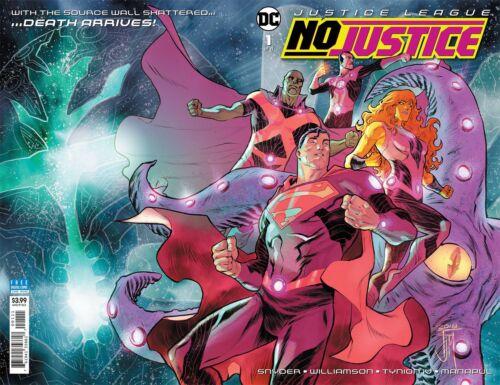 Justice League No Justice #1-4 NM DC Comics 2018