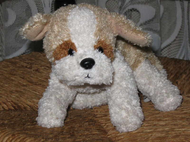 Van Der Meulen Holland Soft Piled Weiß & Beige DOG Plush Cute