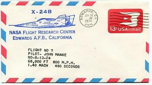 1974 X-24b - John Manke - Flight Research Center Edwards Nasa California