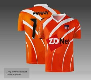 Full Custom made soccer jerseys in any color