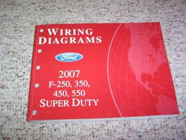 2007 Ford F450 Super Duty Electrical Wiring Diagram Manual Xl Xlt Lariat Diesel