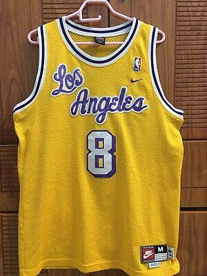 Vintage Nike Los Angeles Lakers Kobe Bryant 1961 Throwback Rewind NBA Jersey M | eBay