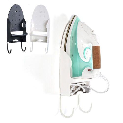 Wall Mounted Ironing Board Hanger Iron Holder Rack Holder Hook Home Decor K